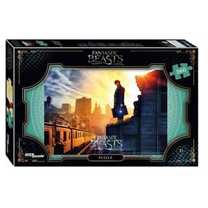 "Step Puzzle (97059) - ""Fantastic Beasts"" - 560 piezas"