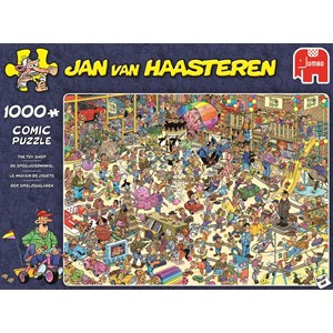 "Jumbo (19073) - Jan van Haasteren: ""The Toy Shop"" - 1000 piezas"