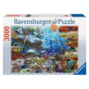 "Ravensburger (17027) - David Penfound: ""Oceanic Wonders"" - 3000 piezas"
