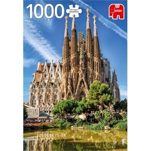 "Jumbo (18835) - ""Sagrada Familia View, Barcelona"" - 1000 piezas"