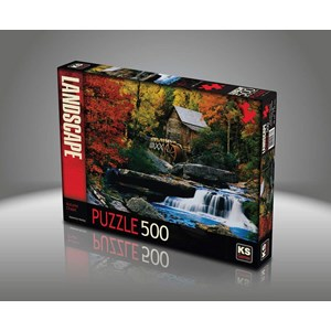 "KS Games (11336) - Katherine Hurtley: ""Autumn Chalet"" - 500 piezas"