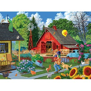 "SunsOut (38919) - Joseph Burgess: ""Home from the Fair"" - 1000 piezas"