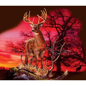 "SunsOut (50766) - Gordon Semmens: ""Red Sunset"" - 550 piezas"