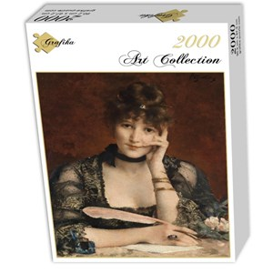 "Grafika (00480) - Alfred Stevens: ""The Letter"" - 2000 piezas"