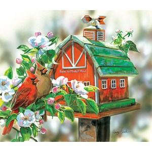 "SunsOut (30633) - Janene Grende: ""Farm to Market Road"" - 550 piezas"
