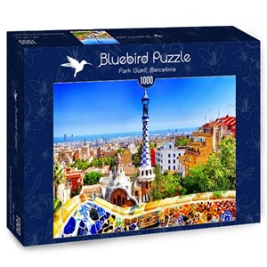 "Bluebird Puzzle (70273) - ""Park Güell, Barcelona"" - 1000 piezas"