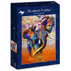 "Bluebird Puzzle (70101) - ""African Colours"" - 1500 piezas"