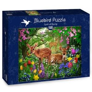 "Bluebird Puzzle (70166) - Ciro Marchetti: ""Spirit of Spring"" - 1500 piezas"