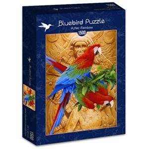 "Bluebird Puzzle (70103) - Graeme Stevenson: ""Aztec Rainbow"" - 1500 piezas"
