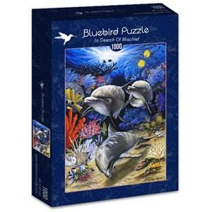 """Bluebird Puzzle (70095) - Dann Spider Warren: """"In Search Of Mischief"""" - 1000 piezas"""