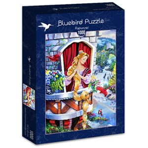 "Bluebird Puzzle (70107) - Jenny Newland: ""Rapunzel"" - 1000 piezas"