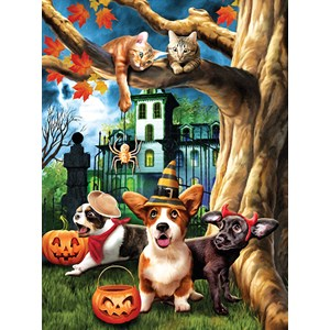 "SunsOut (28713) - Tom Wood: ""Halloween Hijinks"" - 1000 piezas"