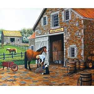 "SunsOut (60319) - Don Engler: ""Coppery and Stables"" - 1000 piezas"