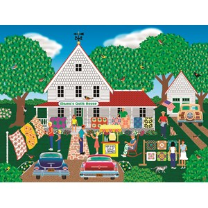"SunsOut (22605) - Mark Frost: ""Mama's Quilt House"" - 1000 piezas"