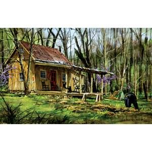 "SunsOut (60739) - Luke Buck: ""Mark's Cabin"" - 550 piezas"