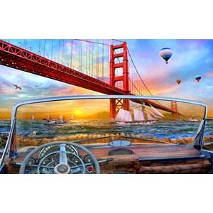 "SunsOut (50069) - Dominic Davison: ""Golden Gate Adventure"" - 550 piezas"