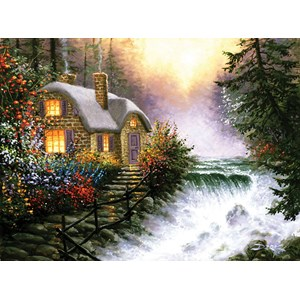 "SunsOut (26140) - Derk Hansen: ""River's Edge"" - 1000 piezas"