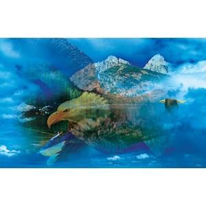"""SunsOut (50777) - Gordon Semmens: """"Eagle Dreamscape"""" - 550 piezas"""