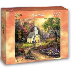 "Grafika (02775) - Chuck Pinson: ""Strength Along the Journey"" - 1000 piezas"