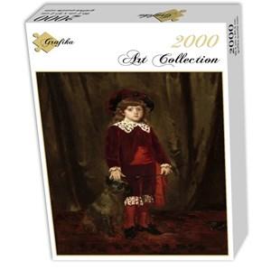 """Grafika (01940) - Mary Cassatt: """"Eddy Cassatt, 1875"""" - 2000 piezas"""