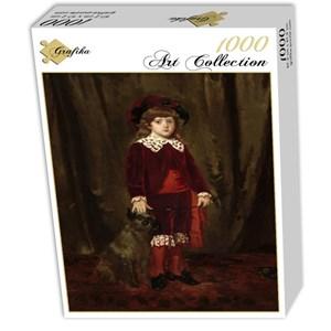 """Grafika (01941) - Mary Cassatt: """"Eddy Cassatt, 1875"""" - 1000 piezas"""
