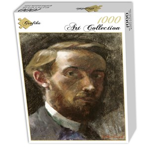 "Grafika (01807) - Edouard Vuillard: ""Self-Portrait, Aged 21, 1889"" - 1000 piezas"