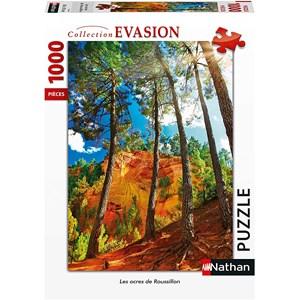 """Nathan (87639) - """"Ocres de Roussillon"""" - 1000 piezas"""