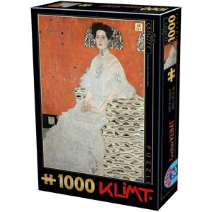 "D-Toys (76861) - Gustav Klimt: ""Fritza Riedler"" - 1000 piezas"