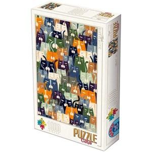 "D-Toys (76847) - Kurti Andrea: ""Cats"" - 1000 piezas"