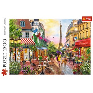 "Trefl (26156) - ""Charme Parisien"" - 1500 piezas"