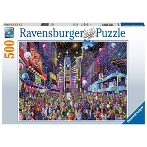 """Ravensburger (16423) - """"New Years in Times Square"""" - 500 piezas"""