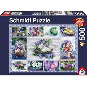 "Schmidt Spiele (58366) - ""Bouquet of Flowers"" - 500 piezas"