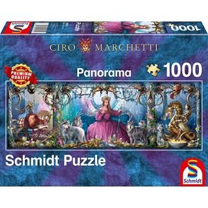 "Schmidt Spiele (59612) - Ciro Marchetti: ""Ice Palace"" - 1000 piezas"