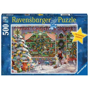 "Ravensburger (16534) - ""The Christmas Shop"" - 500 piezas"