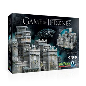 "Wrebbit (W3D-2018) - ""Game of Thrones, Winterfell"" - 910 piezas"