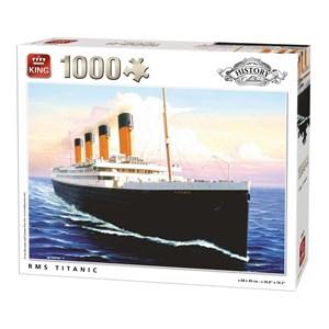 """King International (05621) - """"RMS Titanic"""" - 1000 piezas"""