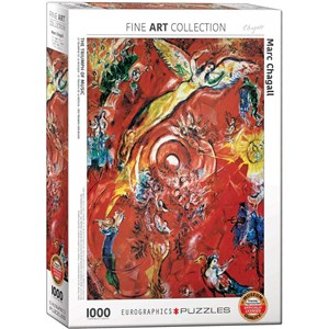 "Eurographics (6000-5418) - Marc Chagall: ""The Triumph of Music"" - 1000 piezas"