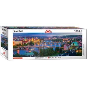 "Eurographics (6010-5372) - ""Prague Czech Republic"" - 1000 piezas"