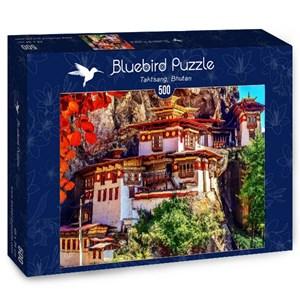 "Bluebird Puzzle (70013) - ""Taktsang, Bhutan"" - 500 piezas"