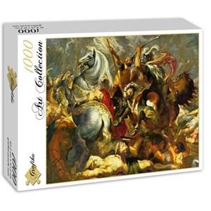 """Grafika (00354) - Peter Paul Rubens: """"Sieg und Tod des Konsuls Decius Mus in der Schlacht, 1617"""" - 1000 piezas"""