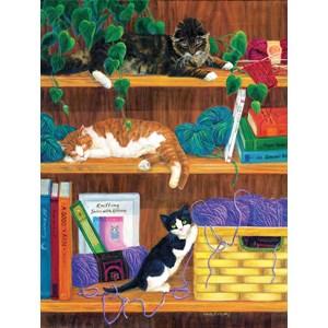 """SunsOut (31631) - Linda Elliott: """"A good Yarn"""" - 500 piezas"""