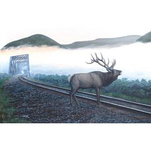 "SunsOut (48856) - Dan Christ: ""Elk Tracks"" - 550 piezas"