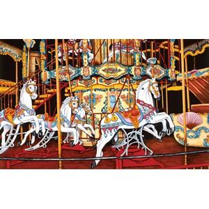 "SunsOut (62701) - Thelma Winter: ""Carousel at the Fair"" - 550 piezas"