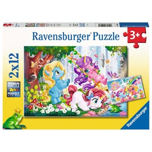"Ravensburger (05028) - ""Magical Unicorn World"" - 12 piezas"