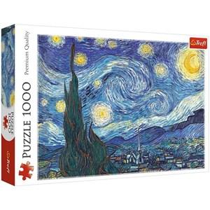 "Trefl (10560) - Vincent van Gogh: ""The Starry Night"" - 1000 piezas"