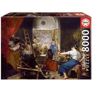 """Educa (18584) - Diego Velázquez: """"Las Hilanderas"""" - 8000 piezas"""