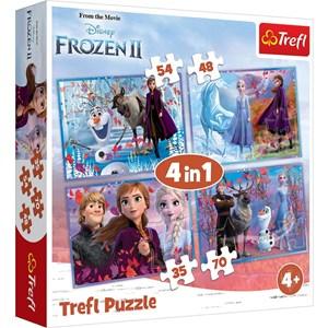 "Trefl (34323) - ""Frozen 2"" - 35 48 54 70 piezas"