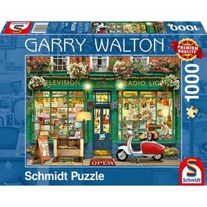 "Schmidt Spiele (59605) - Garry Walton: ""Electronics Shop"" - 1000 piezas"