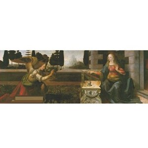 "Impronte Edizioni (073) - Leonardo Da Vinci: ""Annunciation"" - 1000 piezas"