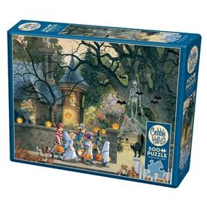 "Cobble Hill (85085) - Douglas Laird: ""Halloween Buddies"" - 500 piezas"